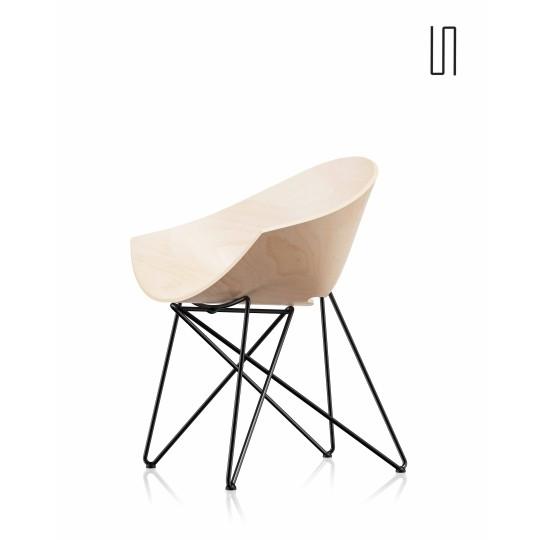 Fauteuil RM56 par Roman Modzelewski, édition neuve, Design Europe de l'Est