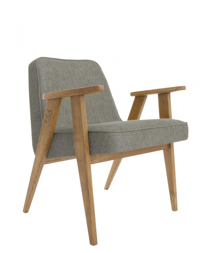 Armchair by Jozef Chierowski, typ 366, new edition