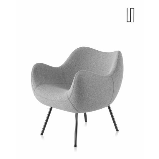 Fauteuil RM58 Soft Standard par Roman Modzelewski, édition neuve