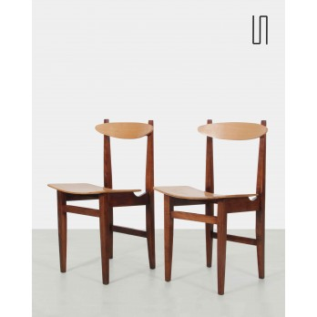 Pair of chair model 200-102 by Maria Chomentowska, Eastern design