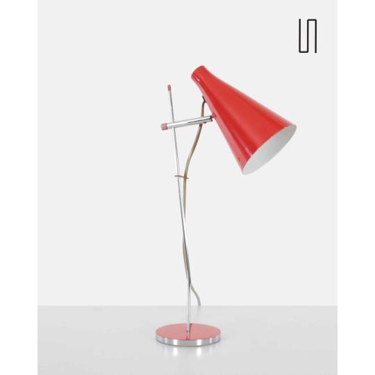 Lampe des pays de l'Est par Josef Hurka pour Lidokov, 1960, design  soviétique vintage
