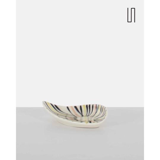 Coupe en céramique pour Ditmar Urbach, 1959, Design vintage de l'Est