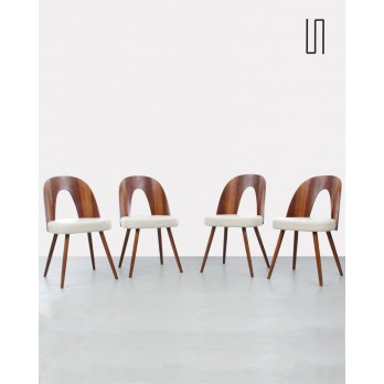 Set of 4 chairs by Antonin Suman for Tatra Nabytok, 1960s