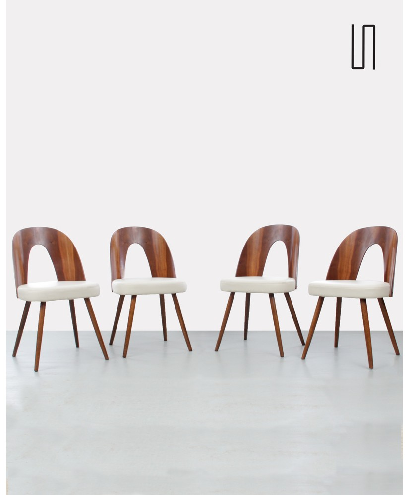 3380ca440dd1 Set of 4 chairs by Antonin Suman for Tatra Nabytok
