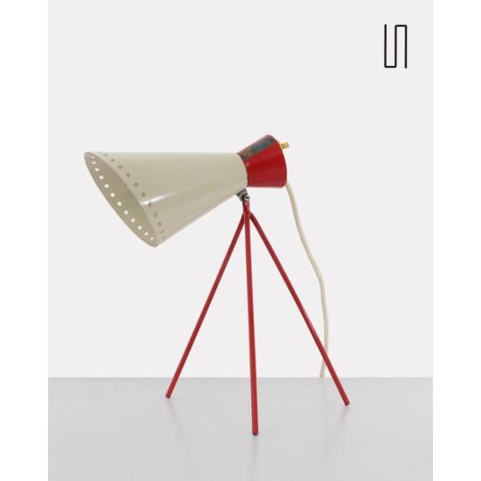 Lampe à poser, modèle 1618, par Josef Hurka pour Napako, 1954, Design d'Europe de l'Est