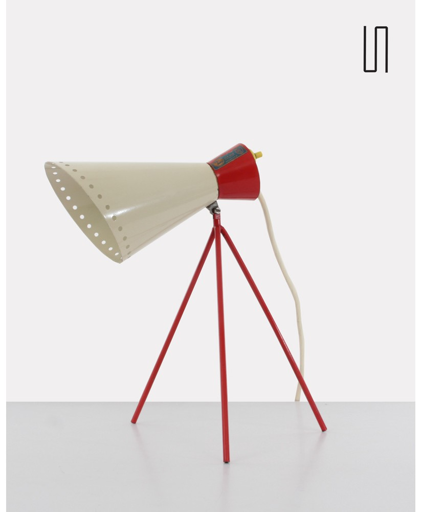 Table lamp, model 1618, by Josef Hurka for Napako, 1954, Eastern european design