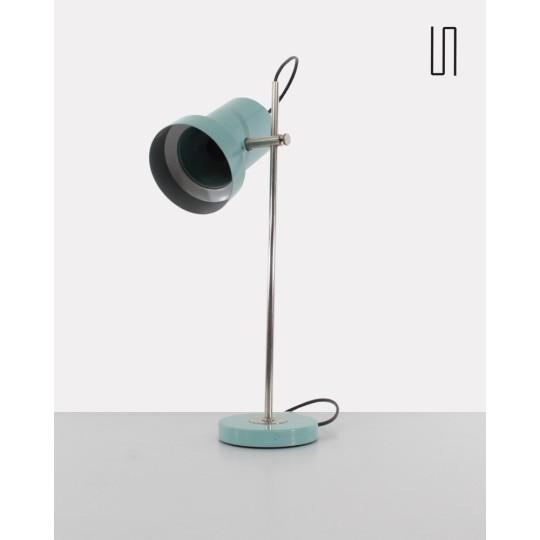 Eastern European metal lamp for Aka, 1960, Soviet design