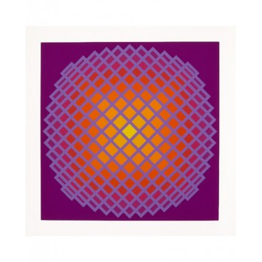 Screenprint - Yvaral - Quadrature IV