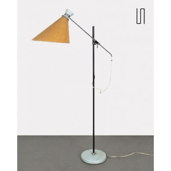 Vintage Eastern European floor lamp for Zukov, soviet design