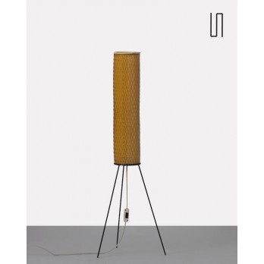 Floor lamp by Josef Hurka for  Napako, 1950s, Vintage Eastern design