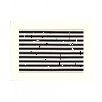 Sérigraphie - Yaacov Agam -  Double Metamorphosis 1