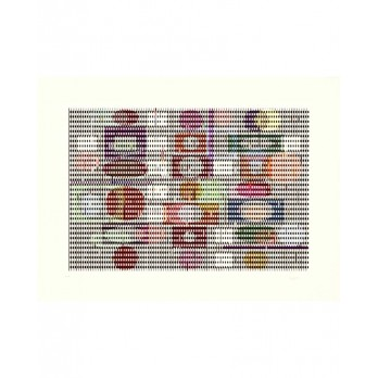 Screenprint - Yaacov Agam -  Double Metamorphosis 3