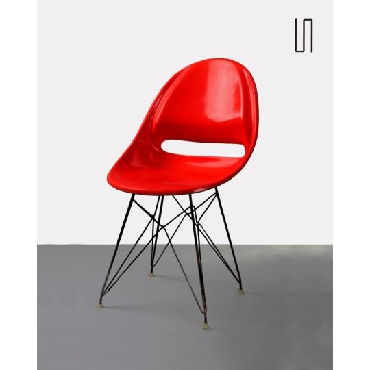 Chaise d'Europe de l'Est par Miroslav Navratil, 1959, Design de l'Est