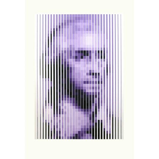 Sérigraphie - Yvaral - George Washington