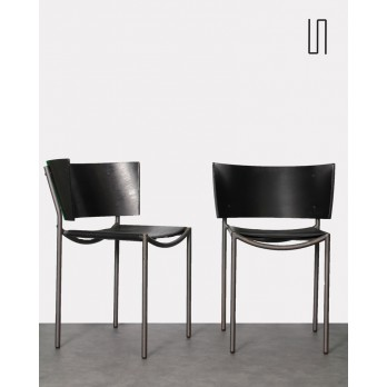Pair of Lilla Hunter chairs by Philippe Starck for XO, French vintage design
