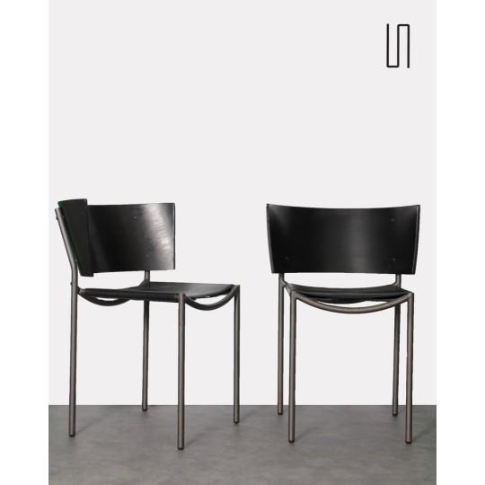 Paire de chaises Lilla Hunter par Philippe Starck pour XO, Design vintage français