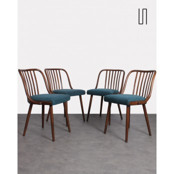 Set of 4 vintage chairs from Eastern for Jitona, 1960s, Vintage design furniture
