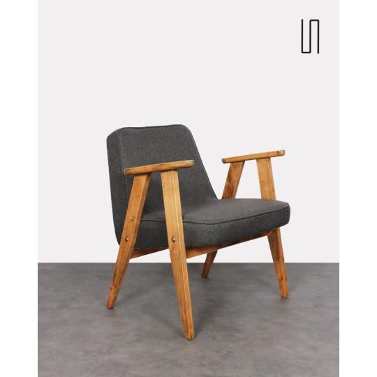 Eastern European armchair by Jozef Chierowski, 1960s