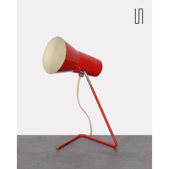 Lampe vintage par Josef Hurka, design d'Europe de l'Est, 1960, Design soviétique