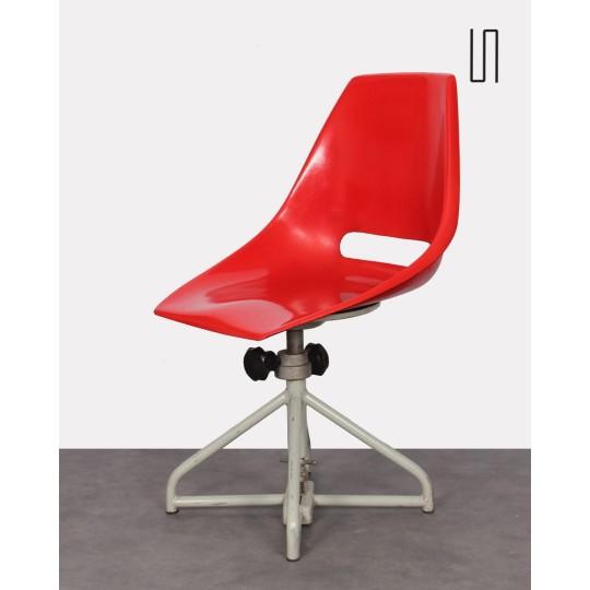 Chaise de bureau par Miroslav Navratil pour Vertex, 1960