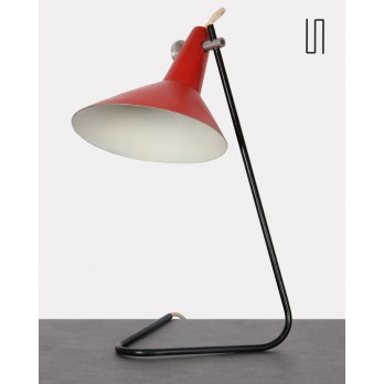 Lampe en métal pour Kovona, design tchèque vintage, 1960