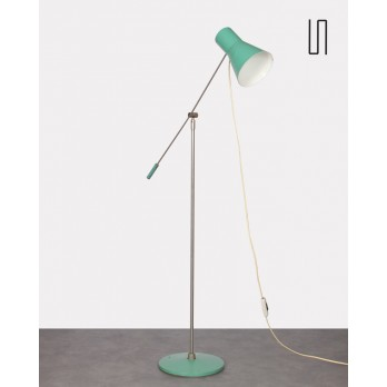 Vintage metal floor lamp, Eastern Europe, 1960