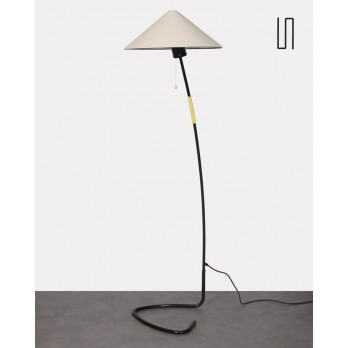 Czechoslovakian floor lamp by Josef Hurka for Napako, 1960s