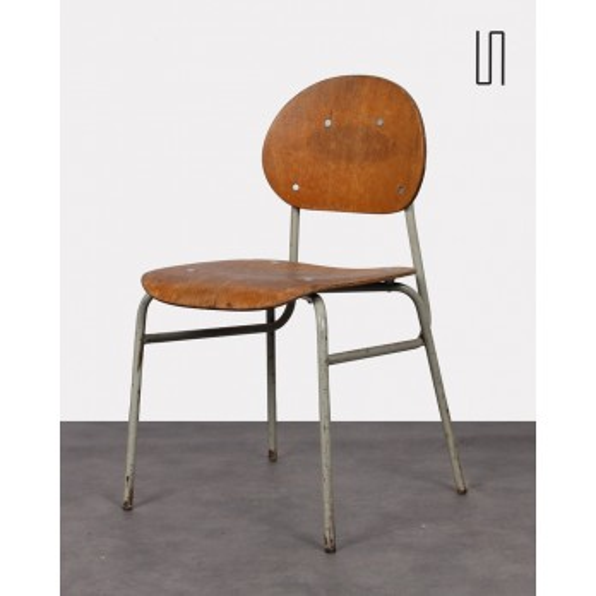 Chaise pour enfant, design tchèque vintage, 1960