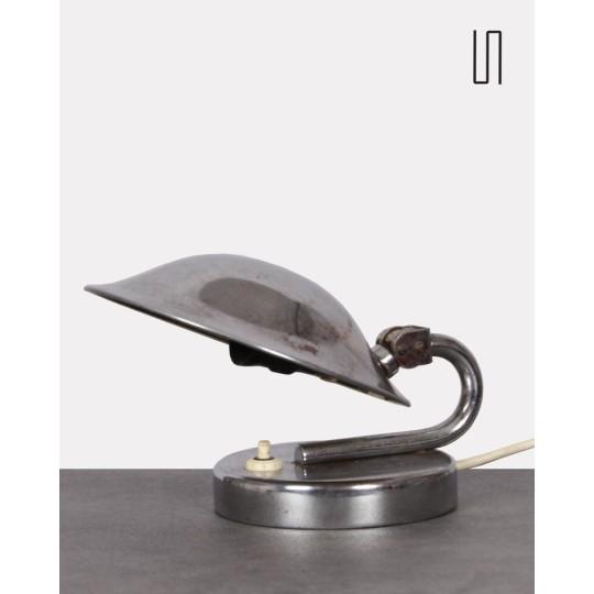 Petite lampe tchèque vintage pour Napako, 1940
