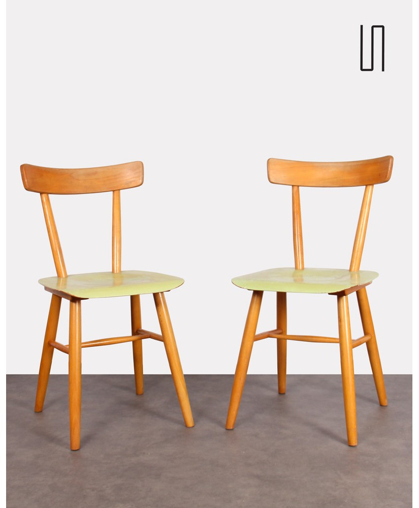 Pair of chairs from Eastern Europe by Ton, 1960, Vintage design