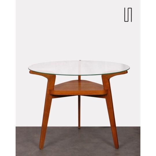 Table basse pour Jitona, design tchèque, 1960