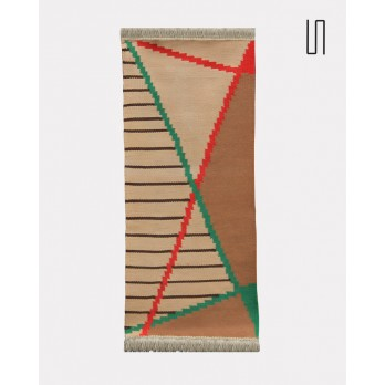 Petit tapis moderniste par Antonin Kybal, 1950