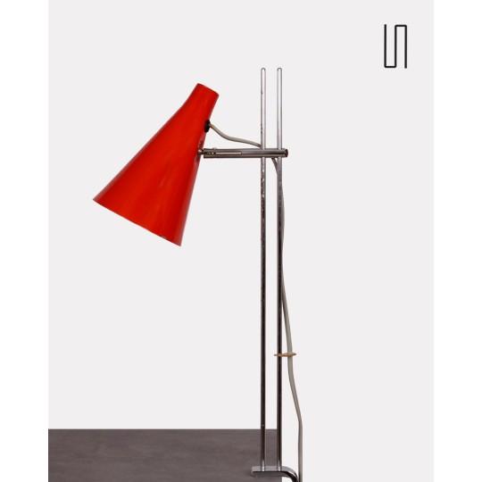 Lampe agrafe par Josef Hurka pour Lidokov, 1960