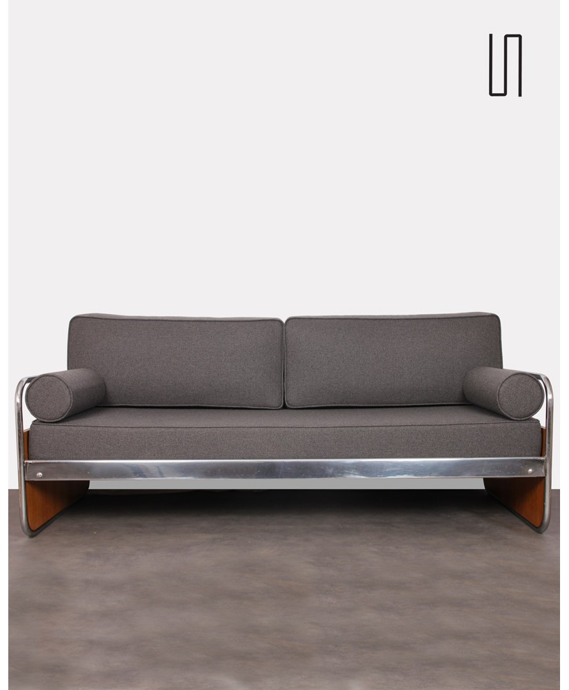 Tubular Metal Sofa Czech Design 1930s
