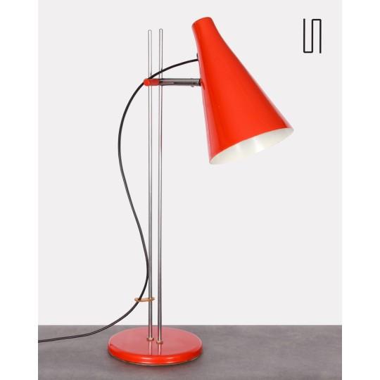 Lampe vintage par Josef Hurka pour Lidokov, 1960