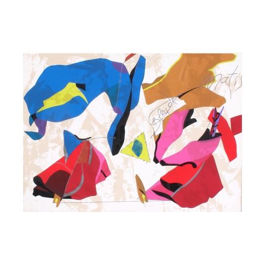 HERVÉ TÉLÉMAQUE - Bleu de Matisse
