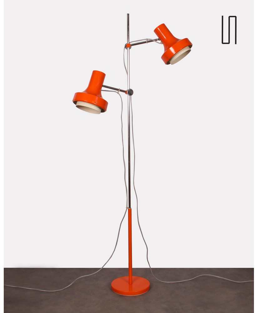 Czech floor lamp by Josef Hurka for Napako, 1970s, Vintage