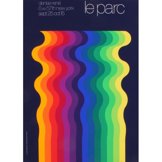 LEPARC - Affiche de l'exposition par Denise René (1973)