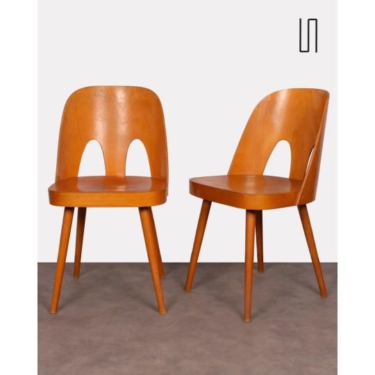 Paire de chaises par Oswald Haerdtl pour Ton, 1960