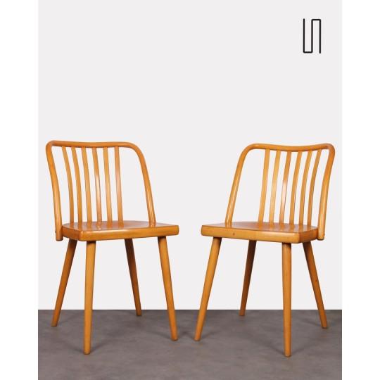 Paire de chaises par Antonin Suman pour Ton, 1960