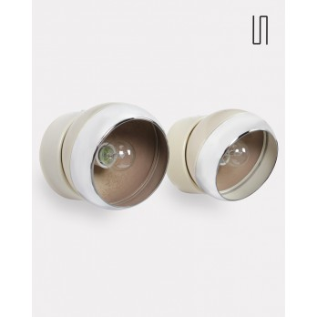 Pair of wall lights from the Czech Republic, 1970s