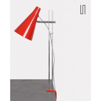 Czech table lamp by Josef Hurka for Lidokov, 1960