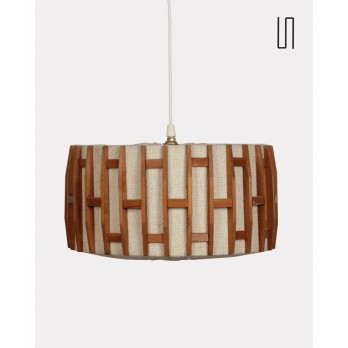 Suspension vintage, design scandinave, 1960