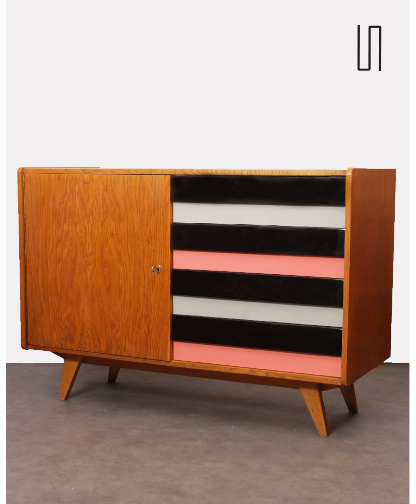 Vintage chest of drawers, Czech design, by Jiri Jiroutek, 1960s