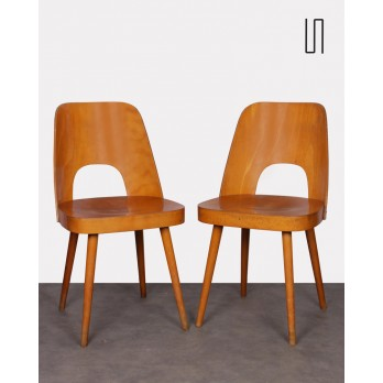 Pair of vintage chairs by Oswald Haerdtl, 1960s