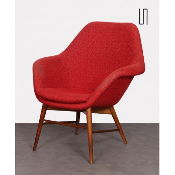 Eastern European Armchair by Miroslav Navratil, 1960s