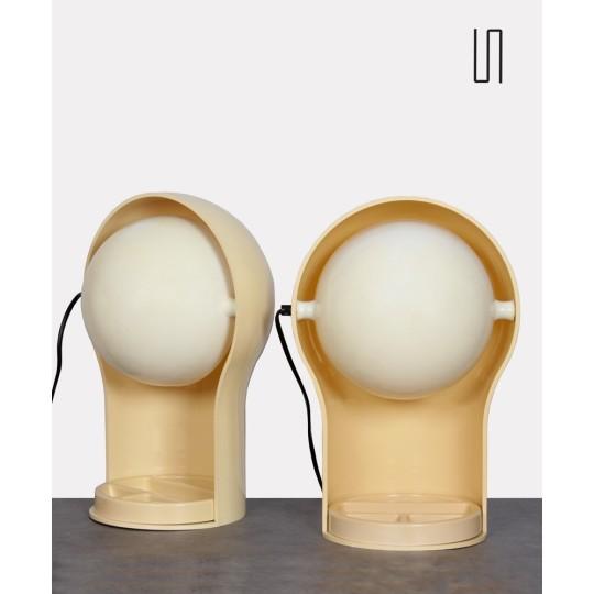 Paire de lampes Telegono par Magistretti pour Artemide, 1960