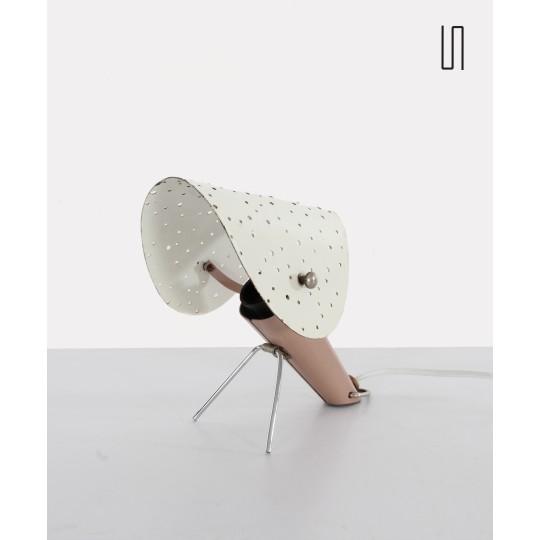 Lampe polonaise design soviétique / des pays d'Europe de l'Est par Apolinar Jan Gałeckii