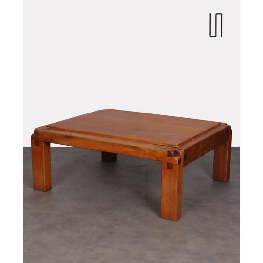 Table basse modèle S20 par Pierre Chapo, 1960