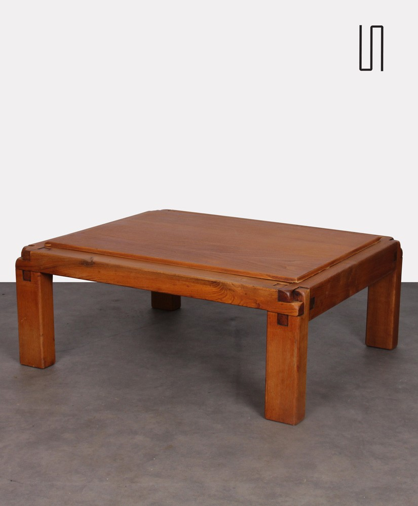 Coffee table model S20 by Pierre Chapo, 1960